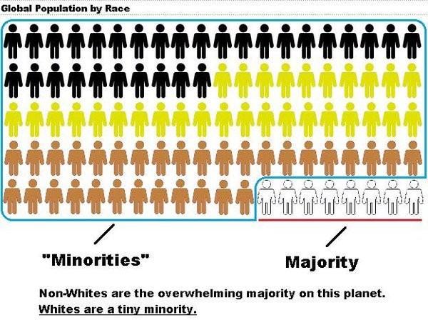 minorities population