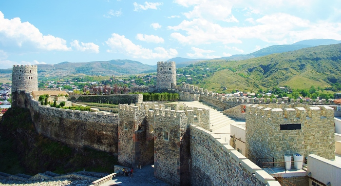 Zamek Rabati w mieście Akhaltsikhe.