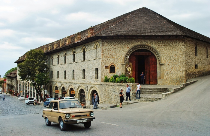 Azerbejdżan - miasto Seki.