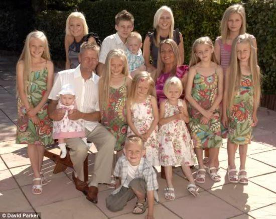 Z pokolenia na pokolenie duże Białe rodziny gwarantują przetrwanie Białego Gatunku.